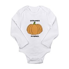 Grandmas pumpkin/ Long Sleeve Infant Bodysuit