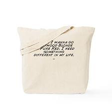 Funny Pure life Tote Bag