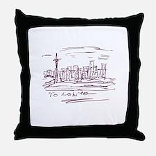 Toronto Throw Pillow