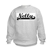 Black jersey: Nelly Sweatshirt