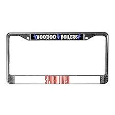 Spark Jiver License Plate Frame