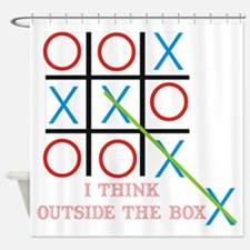 Outside the Box Shower Curtain