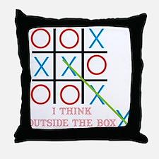 Outside the Box Throw Pillow