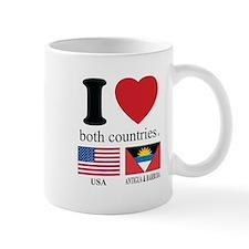 USA-ANTIGUA & BARBUDA Mug