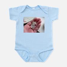Adorable Sleeping Baby Hamster Infant Bodysuit