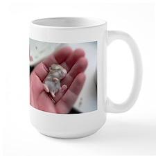 Adorable Sleeping Baby Hamster Mug