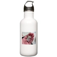 Adorable Sleeping Baby Hamster Water Bottle