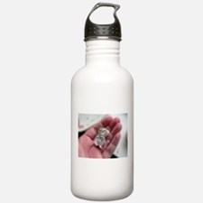 Adorable Sleeping Baby Hamster Water Bottle