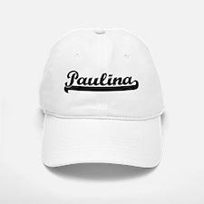 Black jersey: Paulina Baseball Baseball Cap