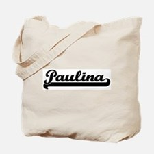 Black jersey: Paulina Tote Bag
