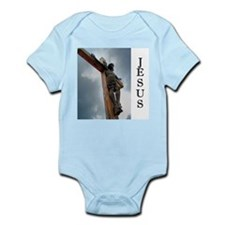 Jesus on the Cross Onesie