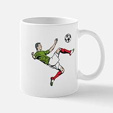 Soccer Player Kick Mug