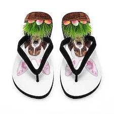 Easter Basset Hound Flip Flops
