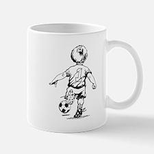 Little Soccer Player Mug