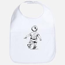 Little Soccer Player Bib