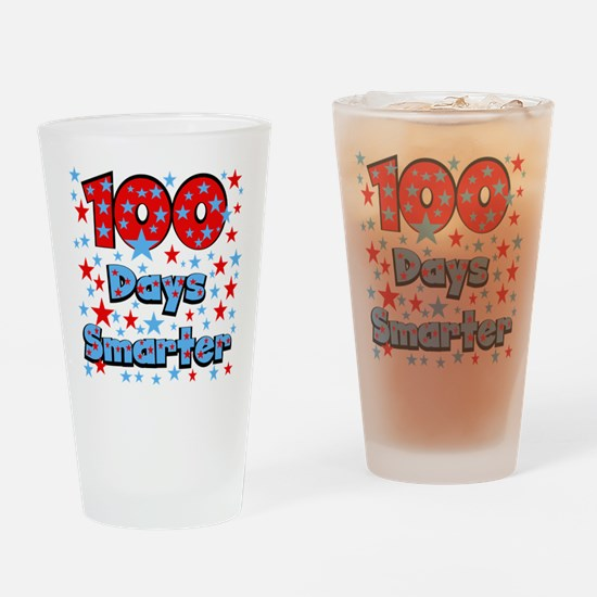 100 Days Smarter Drinking Glass