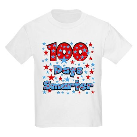 100 Days Smarter Kids Light T-Shirt
