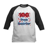 100th day school Baseball Jersey