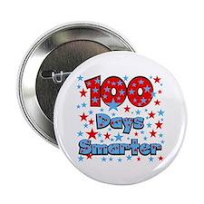 "100 Days Smarter 2.25"" Button"
