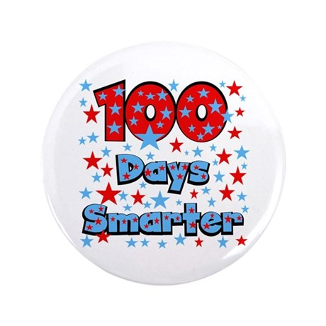 "100 Days Smarter 3.5"" Button"