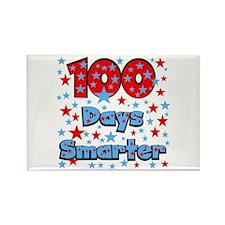 100 Days Smarter Rectangle Magnet