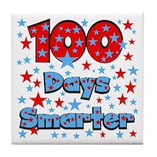100 Days Smarter Tile Coaster