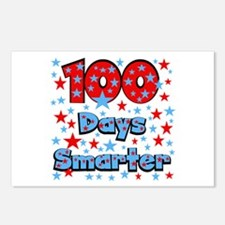 100 Days Smarter Postcards (Package of 8)