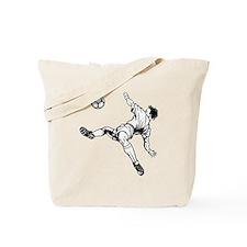 Soccer Bicycle Kick Tote Bag