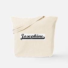 Black jersey: Josephine Tote Bag