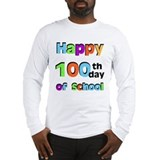 100th day shirts for teacher Long Sleeve T-shirts