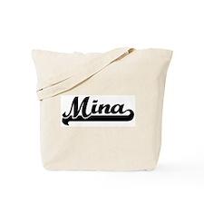 Black jersey: Mina Tote Bag
