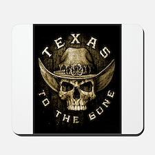 Texas to the bone Mousepad