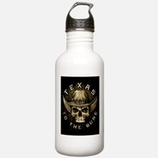 Texas to the bone Water Bottle