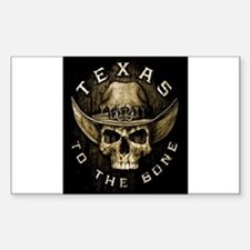 Texas to the bone Decal