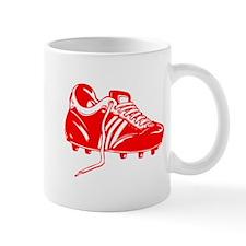 Red Soccer Cleat Mug