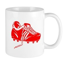 Red Soccer Cleat Mug