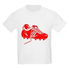 Red Soccer Cleat T-Shirt