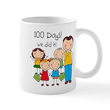 Kids and Male Teacher 100 Days Mug