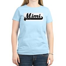 Black jersey: Mimi Women's Pink T-Shirt