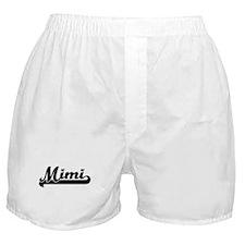Black jersey: Mimi Boxer Shorts