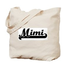 Black jersey: Mimi Tote Bag