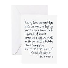 Teresa of Avila Quote Greeting Cards