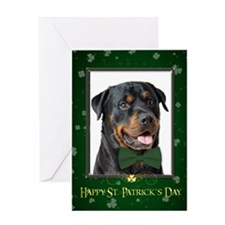 Rottie St. Patricks Card