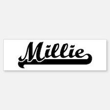 Black jersey: Millie Bumper Bumper Bumper Sticker