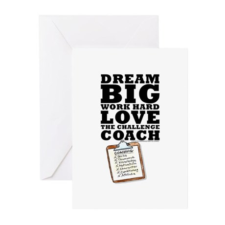 DreamBigCoach Greeting Cards