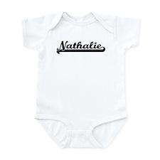 Black jersey: Nathalie Infant Bodysuit