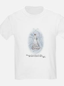 Something Blue Girl's Kids T-Shirt