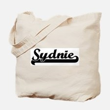 Black jersey: Sydnie Tote Bag