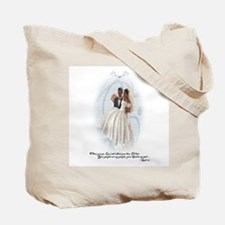 Something Blue (AA) Mother of the Groom Tote Bag
