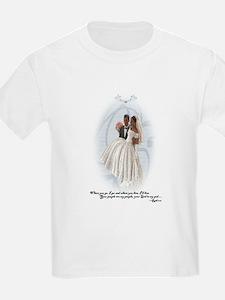 Something Blue (AA) Girl's Kids T-Shirt